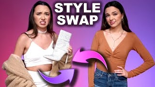 Twin Sisters Swap Outfits - Merrell Twins