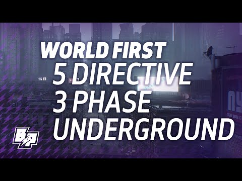 The Division - World First Five Directive Three Phase Underground Operation