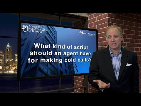 What Kind of Script Should an Agent Have for Making Cold Calls?