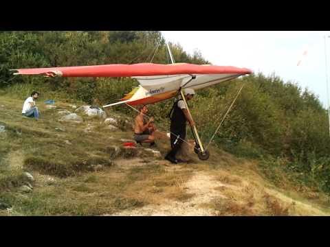 Primo Volo In Deltaplano 03/09/2011