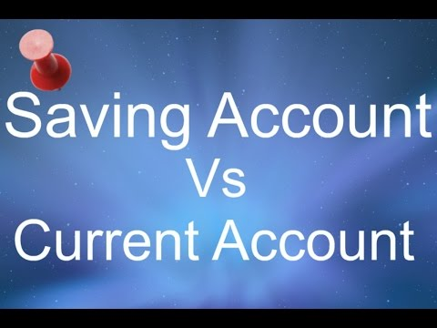 What is the diff. b/w Saving and Current Account ? what should we prefer?
