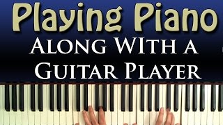 Piano Playing together the