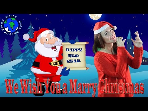 We Wish You a Merry Christmas   British Christmas Song   World Kids Action Songs