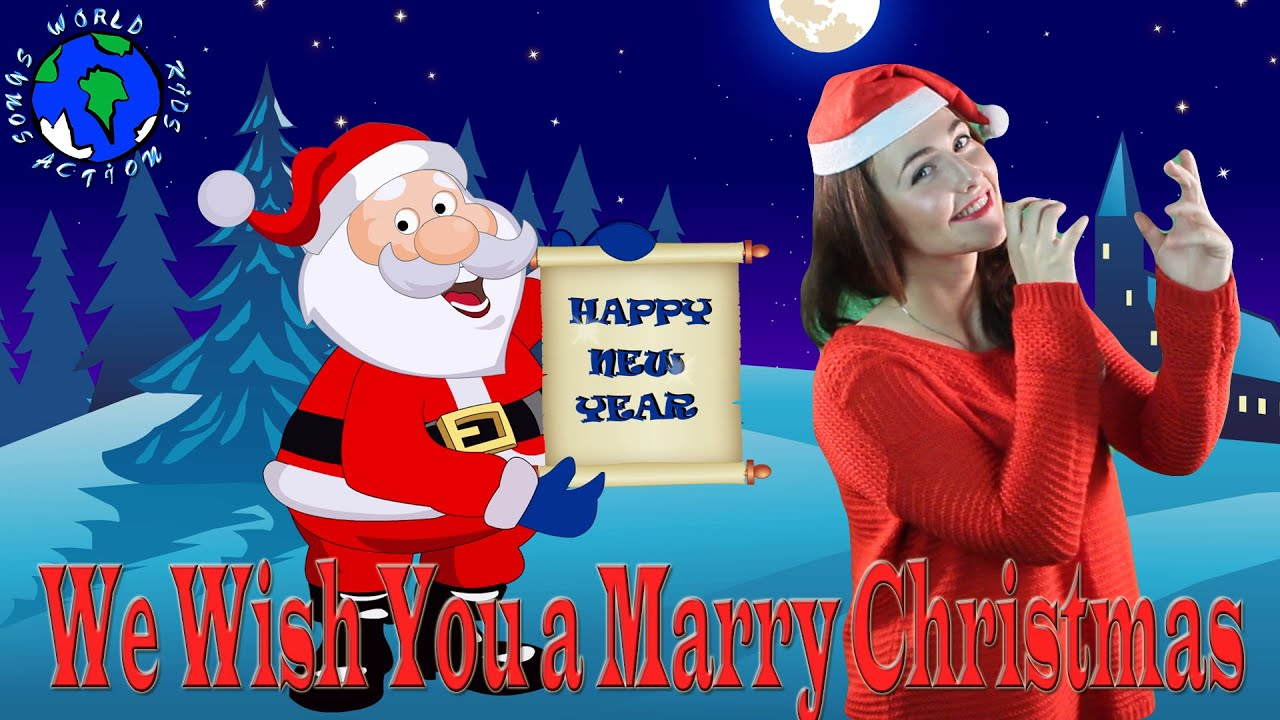 we wish you a merry christmas british christmas song world kids action songs youtube - British Christmas Songs