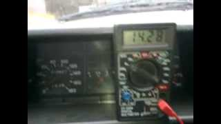Быстрая проверка генератора на автомобиле