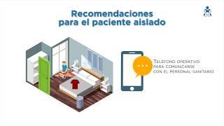 Medidas para el aislamiento domiciliario COVID-19