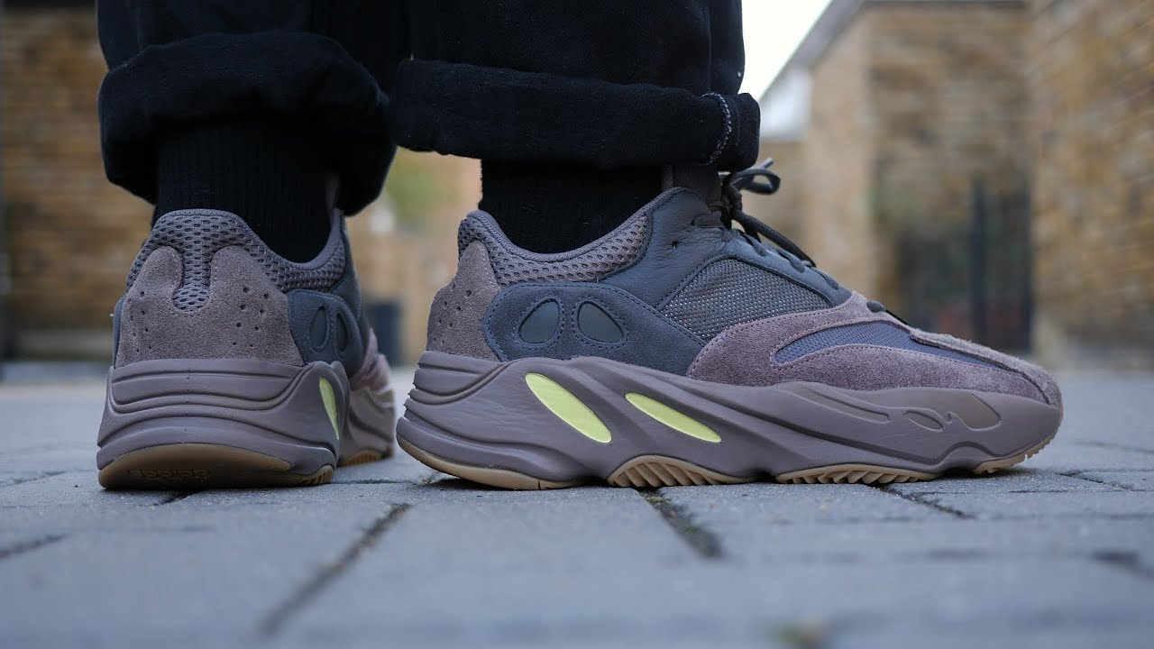 bd9e7bf4309 They Didn t Sell Out... But I Love Them! Yeezy Boost 700  Mauve  Review    On Feet