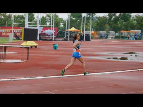 W40 800M Final Asia Masters Athletics Championships 2017 at Rugao China
