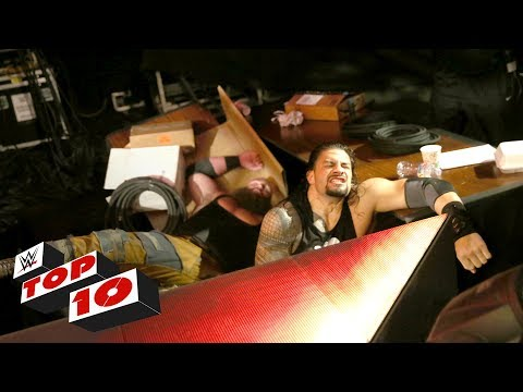 Top 10 Raw moments: WWE Top 10, July 3,...