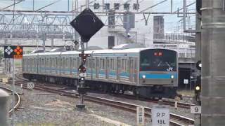 JR西日本 205系 先頭車38編成 京都駅
