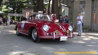 Historic Car Meeting Japan Classic Tour 松本市あがたの森公園 スタート編