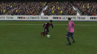 Fifa 14 Demo PC - Neymar dribble skill