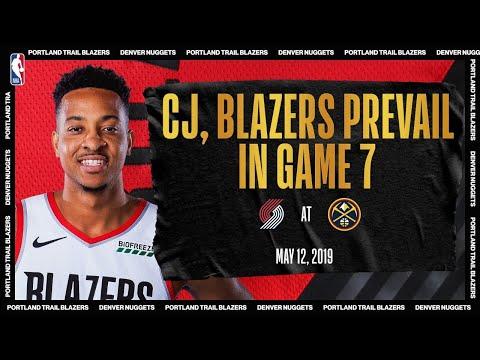 McCollum's CLUTCH Game 7 Performance Leads Portland | #NBATogetherLive Classic Game