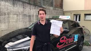 Bravo Fabien, permis réussi avec Street-L auto-école 079 666 33 50