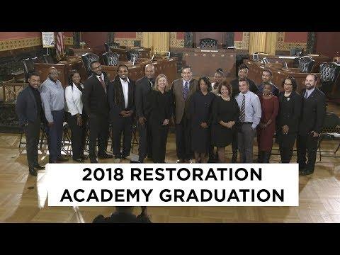 2018 Restoration Academy Graduation Ceremony