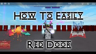 Roblox Parkour: How to go to the Red Door easily!!!