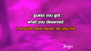 Karaoke More Like Her - Miranda Lambert *