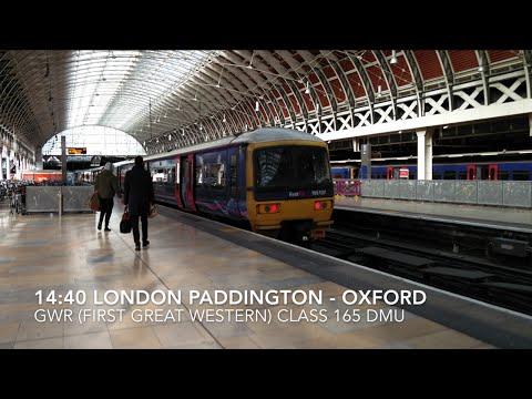 London Paddington to Oxford Rail Journey Aboard GWR Class 165