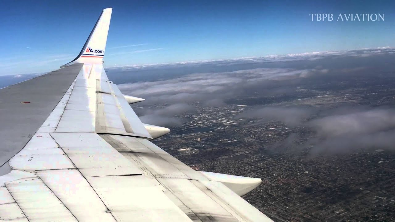 Out The Window American Airlines Aa1669 Boeing 757