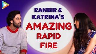 Ranbir Kapoor & Katrina Kaif Rapid Fire | Aamir Khan | Ranveer Singh | Varun Dhawan | Jagga Jasoos