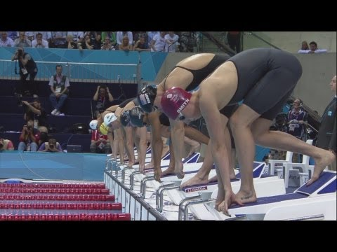 Women's Swimming 50m Freestyle - Semi-Finals | London 2012 Olympics