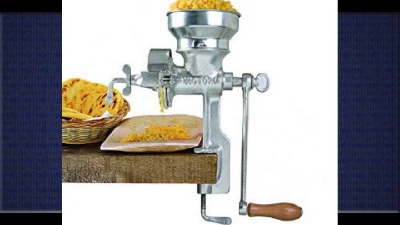Cucina Pro Meat Grinder With Clamp Manual Meat Grinder