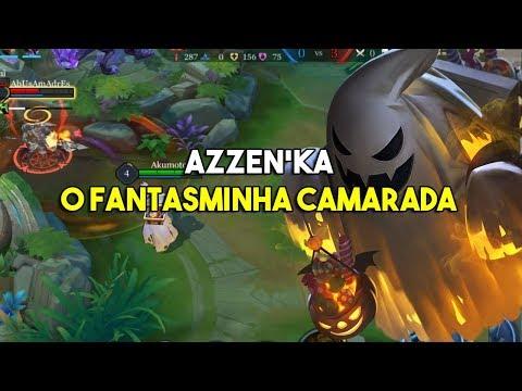 Azzen'ka: O Fantasminha Camarada - Arena of Valor