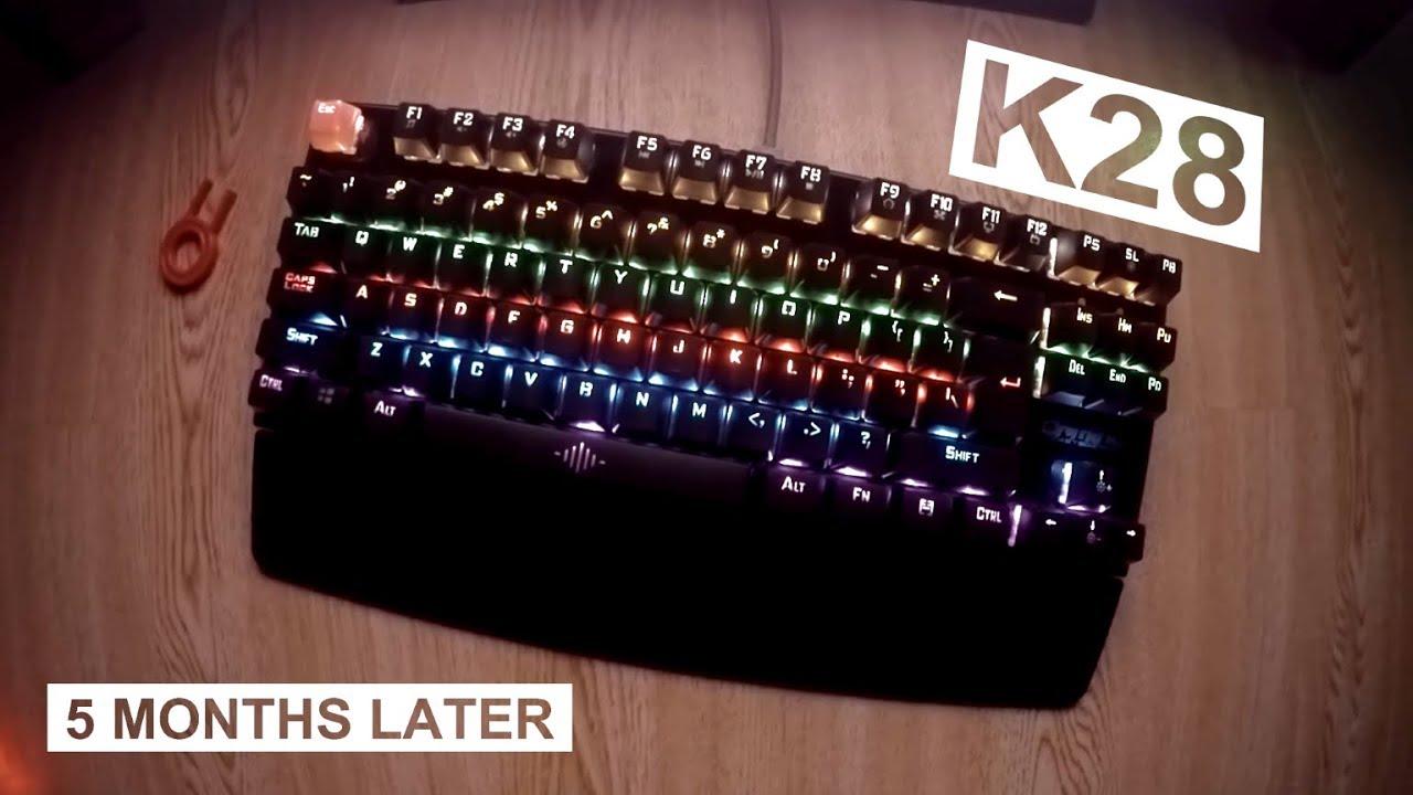 Gigaware K28 /AESOPCOM 87Keys Cheap Mechanical Keyboard