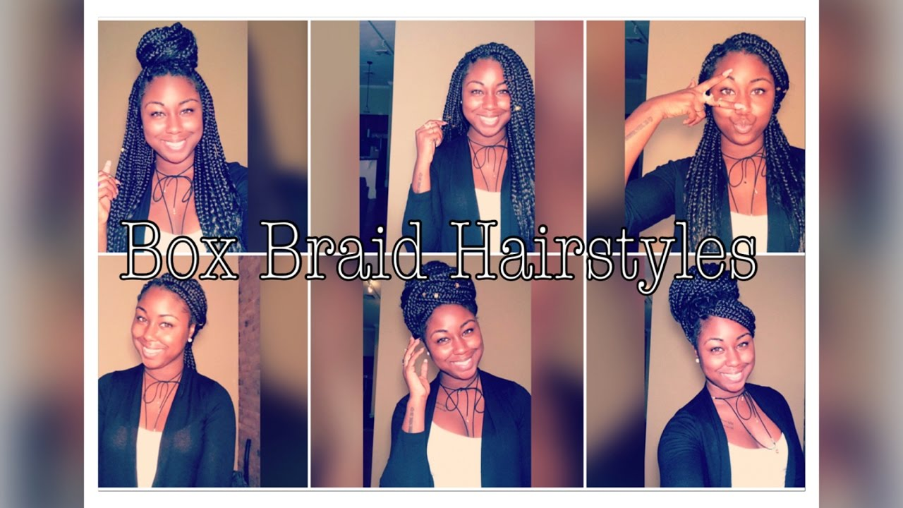 easy & quick box braid styles