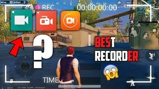How to Record Pubg Mobile Gameplay without Lag | One of the Best Screen Recorder | Hindi/Urdu