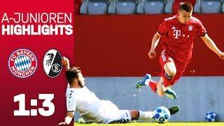 FC Bayern cannot benefit from a lead vs. SC Freiburg | Highlights - U19 Bundesliga 2018/19