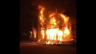CTFD - OnScene - 950 W Pine St. - 3rd. Alarm Dwelling Fire