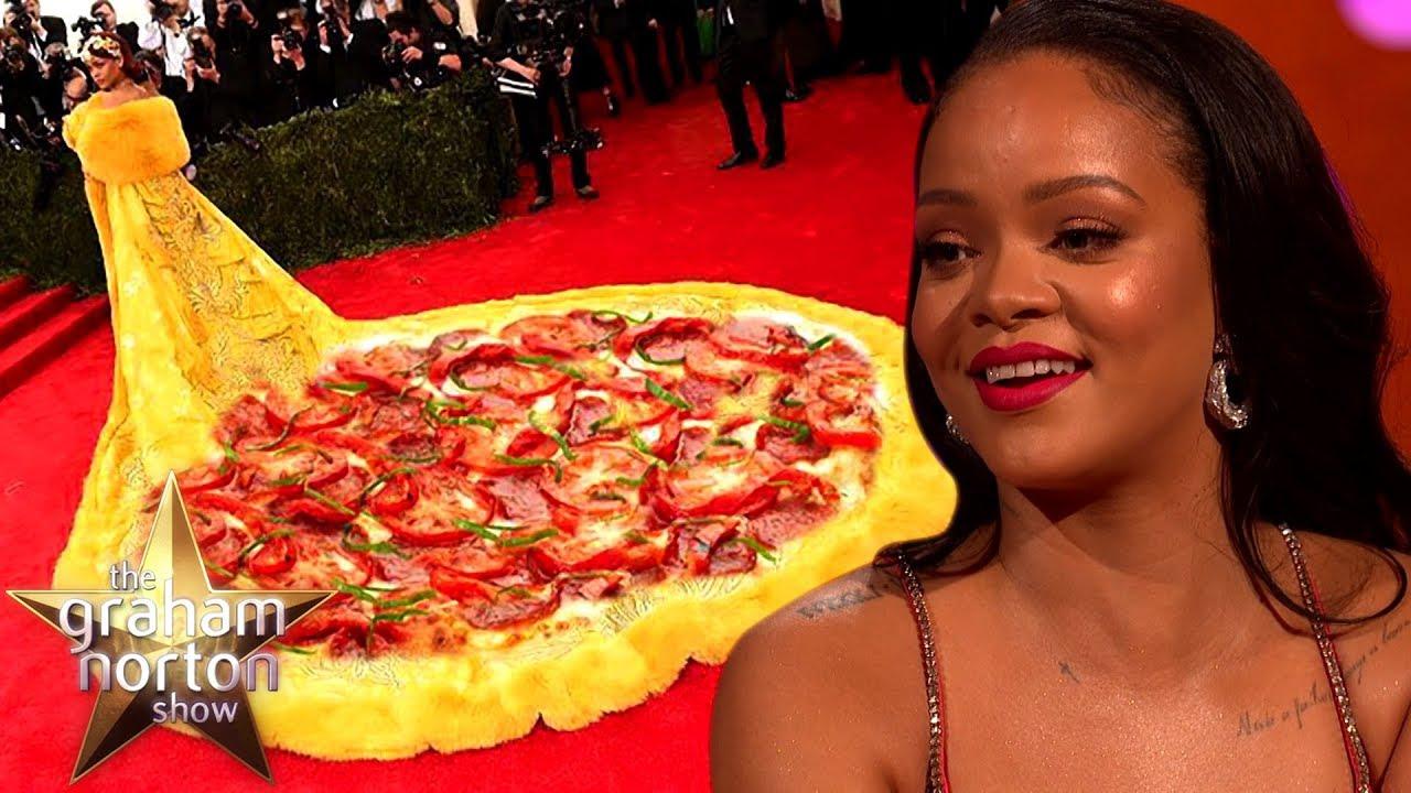 Rihanna's Dress Became A Meme | The Graham Norton Show