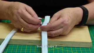 How To: Replace a Reversible Zipper Slider