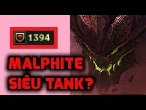 Malphite 1400 giáp mà vẫn nhiều sát thương với ngọc tái tổ hợp mới - Bạn đã thử chưa?