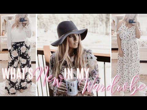WHAT'S NEW IN MY WARDROBE?