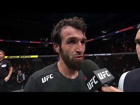 UFC Moscow: Забит Магомедшарипов - Cлова после боя