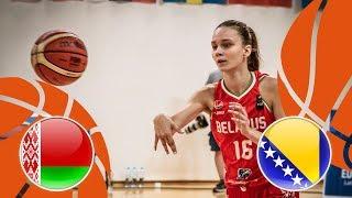 Belarus v Bosnia & Herzegovina - Full Game - FIBA U16 Women's European Championship Division B 2018 thumbnail