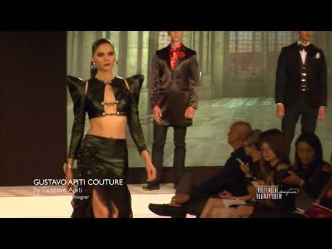 GUSTAVO APITI COUTURE RUNAWAY SHOW AT THE BELLEVUE FASHION WEEK 2017