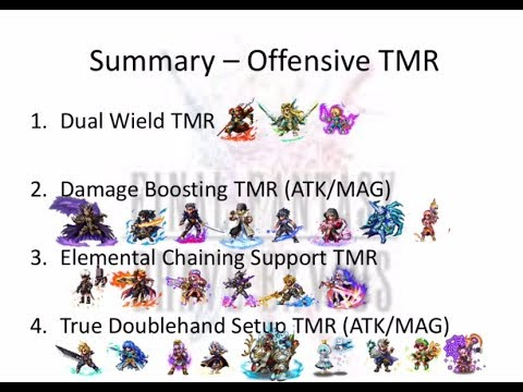 FFBE: Trust Moogle Utilization Guide Pt 1 - Which Offensive TMRs To Focus Your Moogles On?