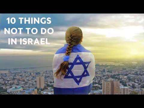 10-things-not-to-do-in-israel