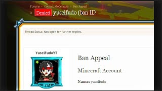 How to get unbanned from hypixel videos / InfiniTube