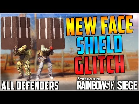 NEW FACE SHIELD GLITCH WITH ALL DEFENDERS - TUTORIAL - EASY - OP - (Rainbow Six Siege) (AFTER PATCH)