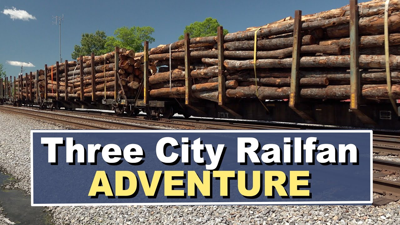 Three City Railfan Adventure:  Rome, Dalton, Spartanburg