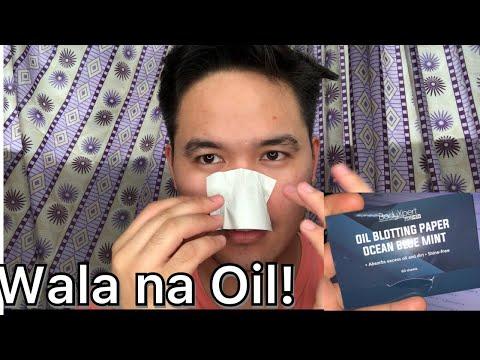 Men Skincare 2019 - Oil Blotting Paper | Tips to prevent oily skin!