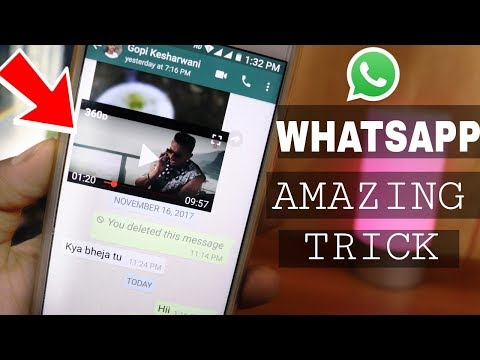 WhatsApp NEW TRICK, Now Play YouTube Videos Direct In WhatsApp Page