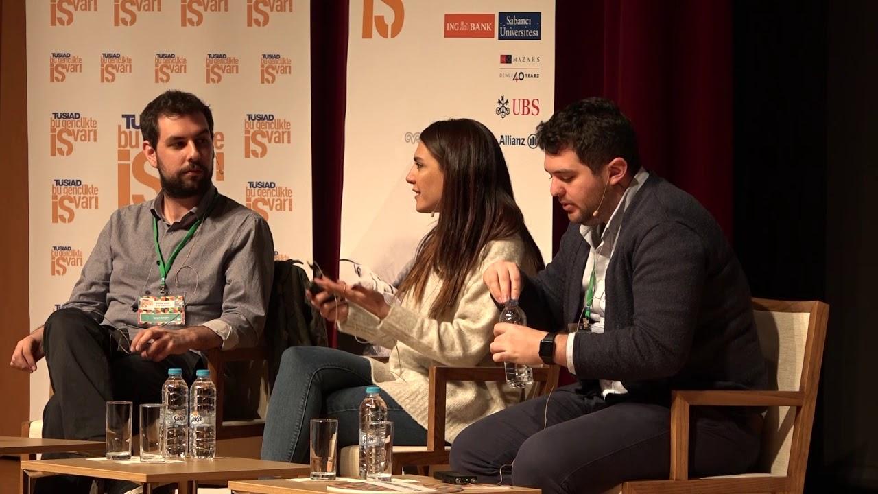 Panel: Girişimci Kimdir? (Bu Gençlikte İŞ Var! 2018 Eğitim Kampı)