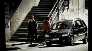 2001 OPEL Zafira / Vauxhall Zafira / Chevrolet Zafira: Iklan TV Commercial Ad TVC CF...