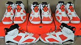 d06a464ff007ee Air Jordan 6 Carmine VS Gatorade VI Retro Sneaker Battle On Feet ...