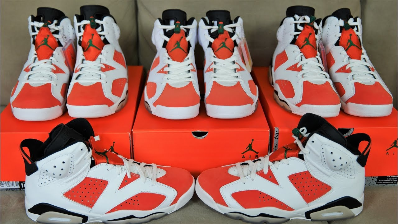separation shoes ea08b da590 HOW TO LEGIT CHECK YOUR GATORADE 6'S | FAKES ARE SCARY CLOSE